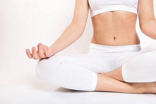 ofta träna yoga lotus