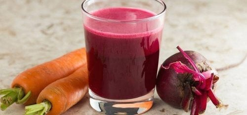 Drick gärna juice på rödbeta