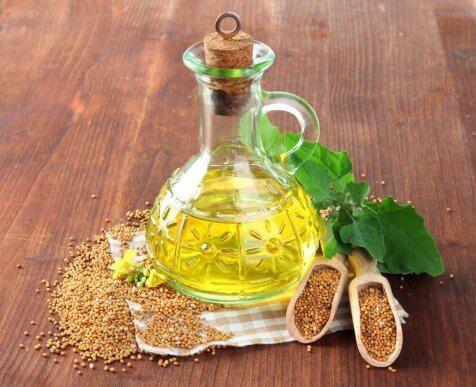 Senapspulver och vinäger är ett alternativ