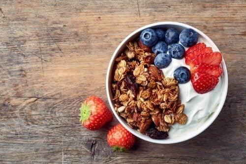 De bästa frukostarna innehåller fiber