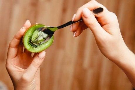 kiwi bra för magen