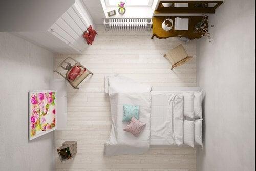 Små rum kan vara svåra att inreda