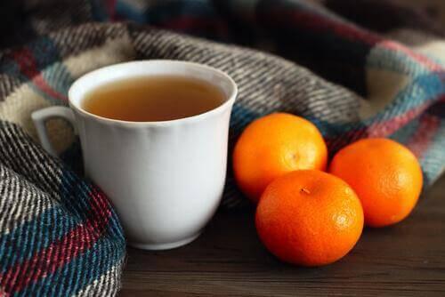 Te på tangerinskal hjälper dig att somna på 5 minuter