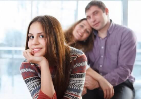 uppfostra en tonåring familj