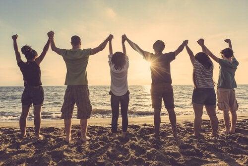 uppfostra en tonåring strand