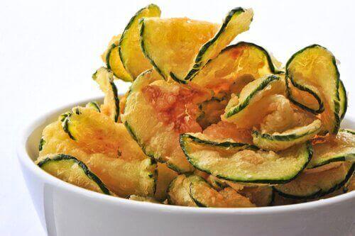 Tre enkla sätt att göra grönsakschips