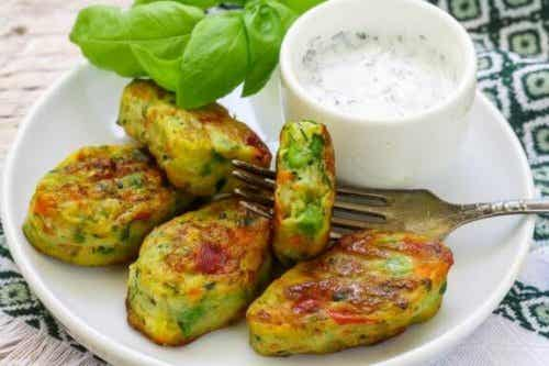 Tre recept på vegetariska nuggets