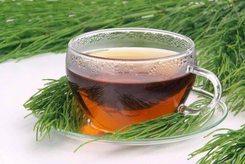Infusion med grönt te