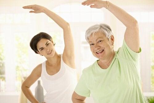 Regelbunden träning för att undvika viktuppgång med åldern