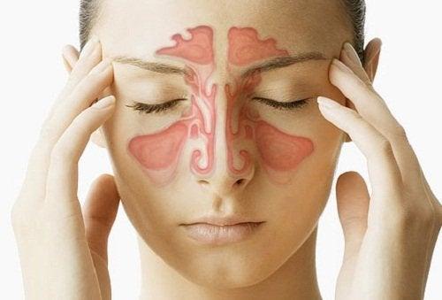 bihåleinflammation ansikte