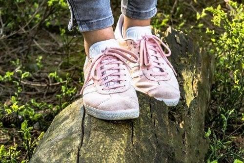 Bär rätt skor