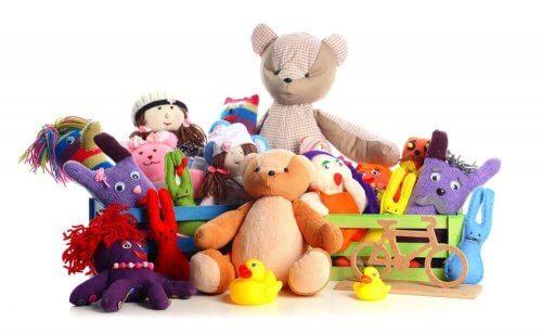 Ger du för många presenter till barnen?
