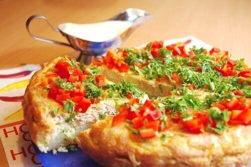 Prova på denna läckra franska skink- och ostomelett