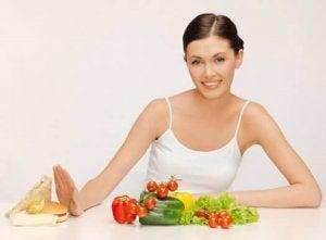 gå ner i vikt utan att banta