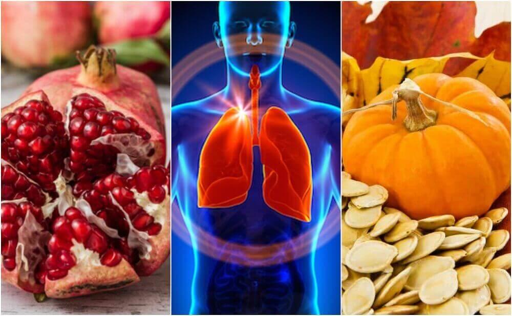 6 livsmedel som gynnar lungornas funktion