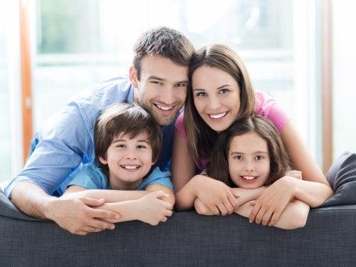 lyckat äktenskap familj