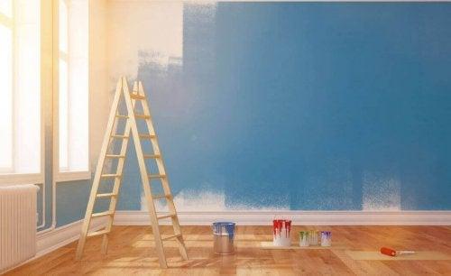 målar ditt hus färger