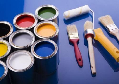 målar ditt hus penslar