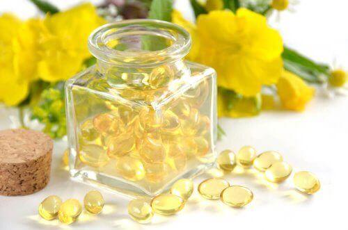 Medel med primrosolja för kvinnors hälsa