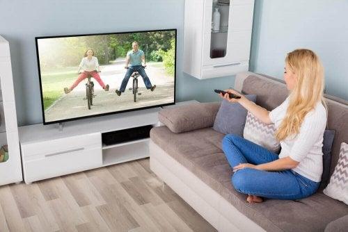 Tänk på att rengöra din TV