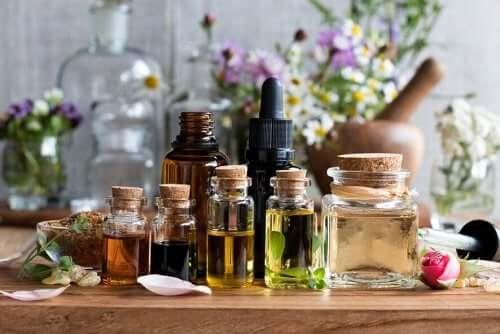 Aromatiska oljor i rad