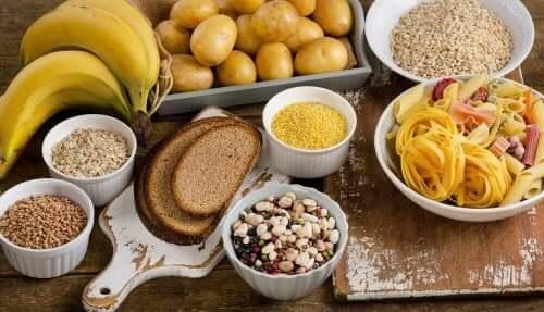 Mat med kolhydrater