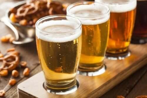 Öl kan innehålla gluten