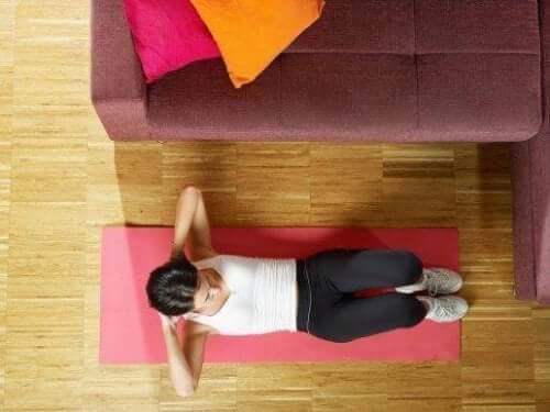 Fem enkla sätt att träna magmuskler