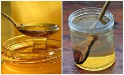 Hur man botar halsont med varmt vatten och honung