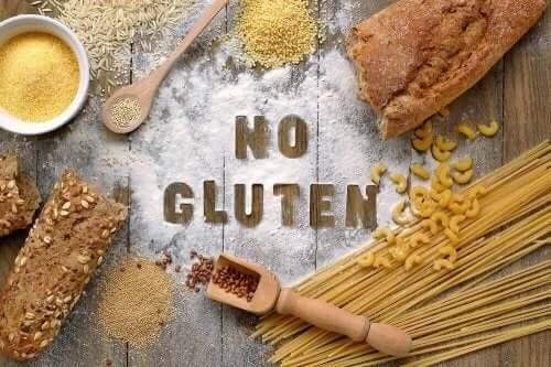 Ingen gluten i maten.