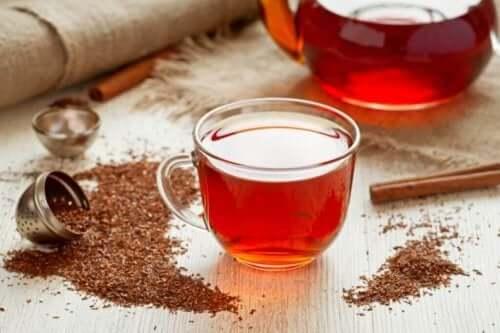 Hälsorelationen mellan rött te och viktminskning