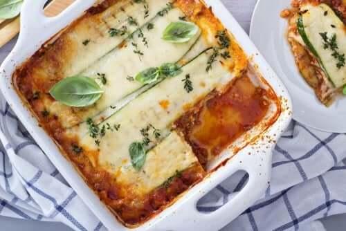Hur du lagar god lasagne utan pasta