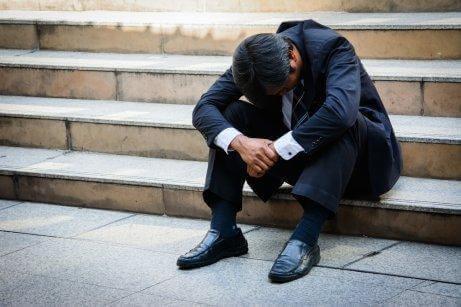 Stress kan förvärra gastrit.