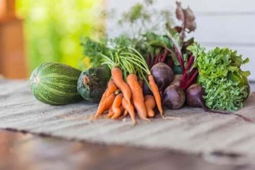 Tre goda och intressanta recept med säsongsgrönsaker