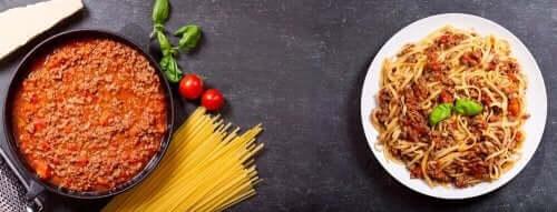Spagetti carbonara finns i olika recept