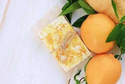 Tvålar med apelsin