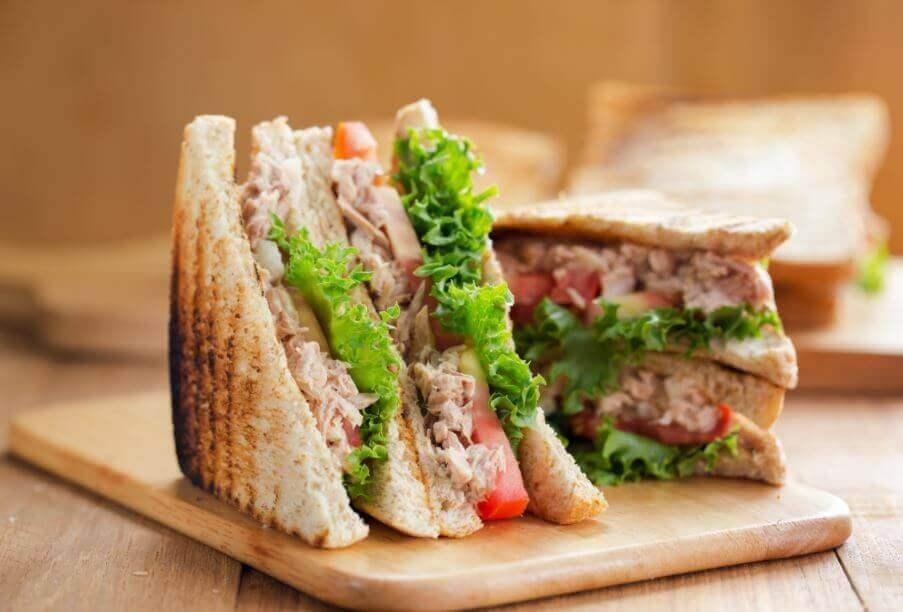 Tonfisksmörgåsar