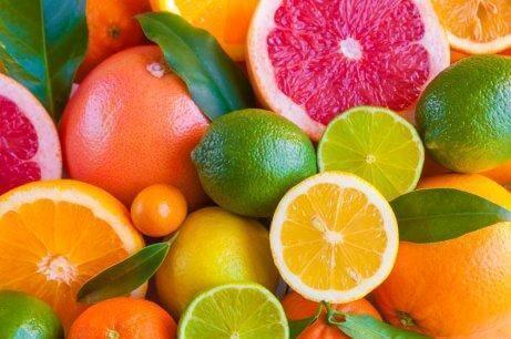 Citrusfrukter luktar härligt