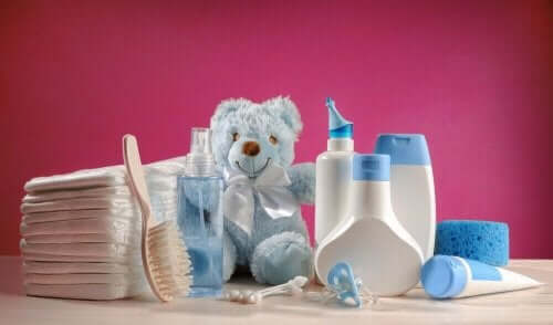 Ta hand om din bebis hår med rätt produkter
