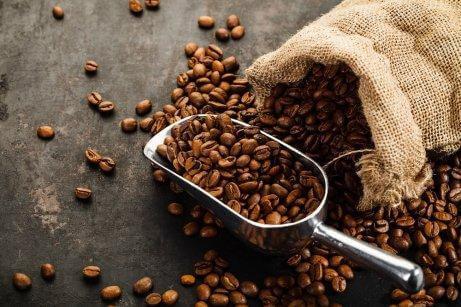 Kaffebönor luktar utsökt