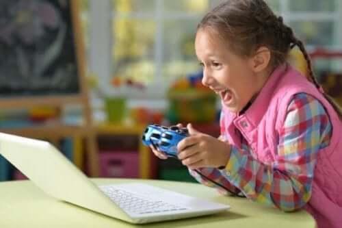 Mitt barn kan inte sluta spela TV-spel