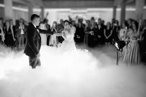 Rök på dansgolvet