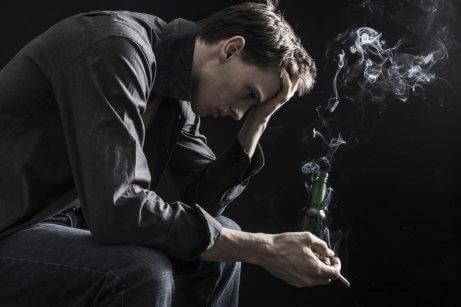 Rökande man