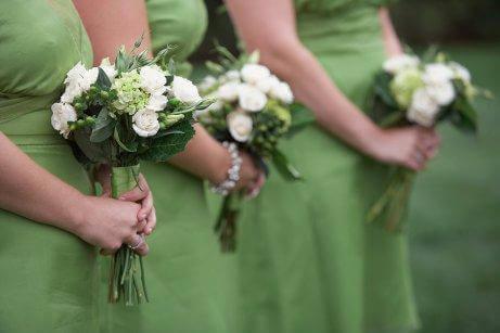 Klänning är den bästa looken för bröllop