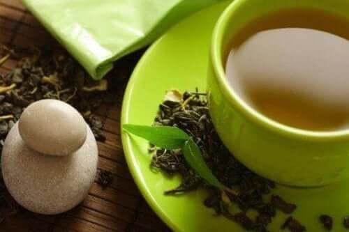 grönt te gå ner i vikt