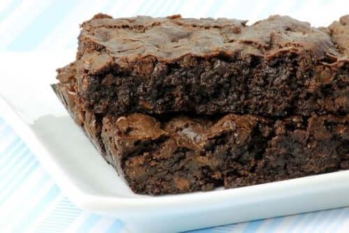Hunger och ångest med brownies.