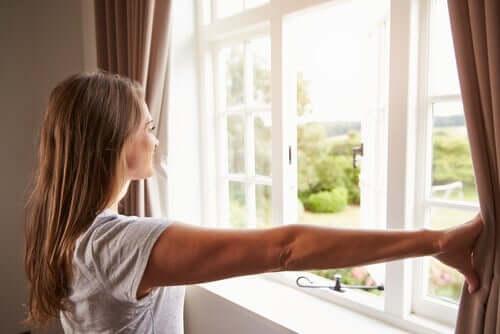 vädra för att förbättra luftkvaliteten i ditt hem