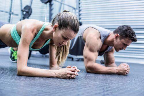 Muskelsmärtor då du tränar alltför mycket