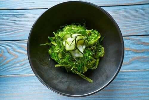 Det finns olika typer av ätbara alger