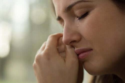 Fördelarna med att inte hålla tillbaka tårarna